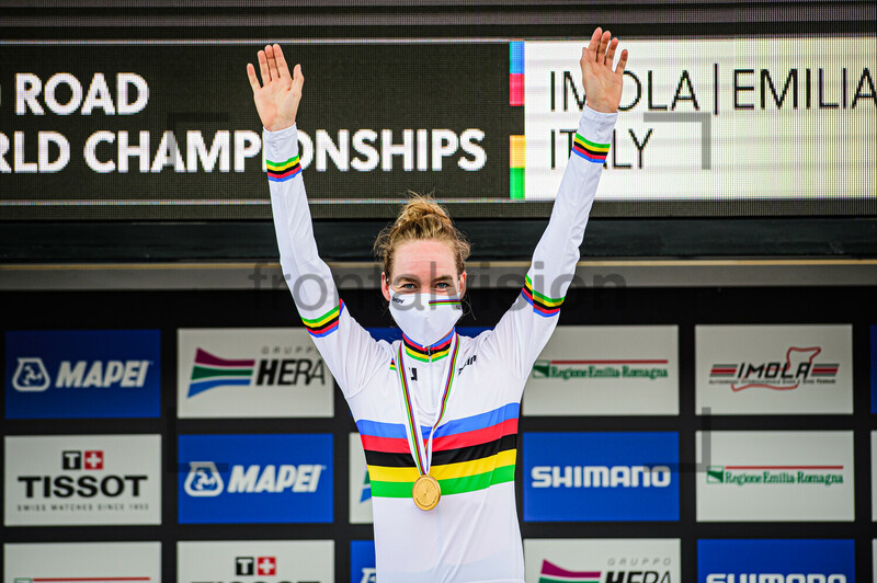 Anna van der Breggen Women Time Trail UCI Road Cycling World Championships 2020