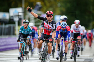 Caleb Ewan vom Team Lotto Soudal won the Scheldeprijs 2020