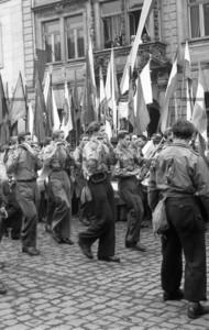Dreiländertreffen in Zittau 12. January 1950