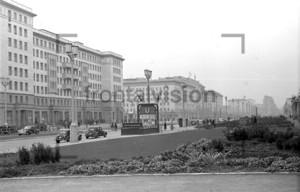 U-Bahnhof Marchlewskistraße Berlin 1953
