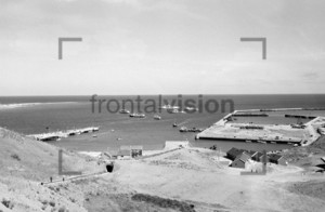City and harbour of Helgoland 1959