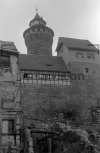Nürnberger Burg Kaiserburg 1954 | Nuremberg Castle