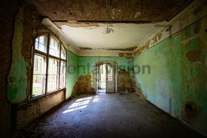 Innenaufnahmen Heilstätte Grabowsee - Lung sanatorium Grabowsee