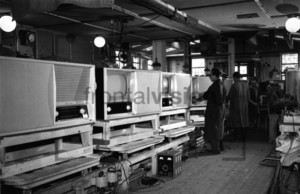 Television Factory in 1950
