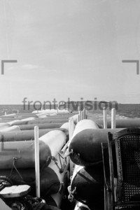 Helgoland from a ship 1959