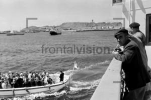 Anreise Helgoland Massentourismus 1959