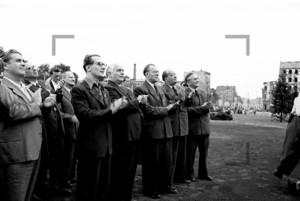 DDR-Politiker Pieck, Honecker | GDR politician Honecker Pieck