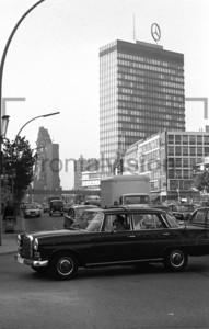 Europa-Center Gedächtniskirche Berlin 1969 | Gedaechtniskirche, Europe Center Berlin 1969
