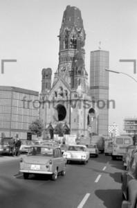 Westberlin Gedächtniskirche 1969