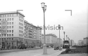 U-Bahnhof Weberwiese Berlin 1953