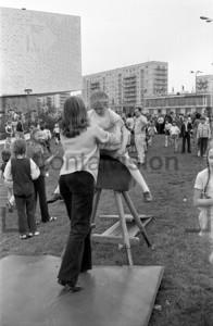 Bock springen Karl Marx Allee 1973