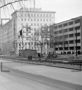 Laubenganghäuser Karl Marx Allee 1953