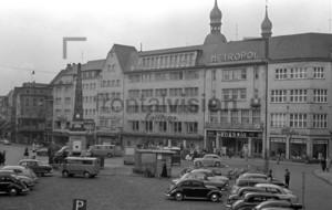 Bonn Marktplatz Obelisk 1955