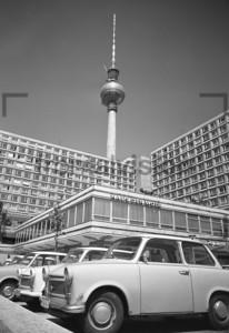 Fernsehturm, Haus der Mode, Alex | TV Tower, House of fashion, Alex Square.