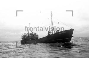 Fischkutter Karl Liebknecht auf hoher See | Fishing boat Baltic Sea