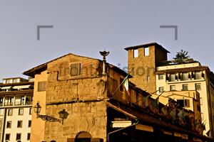 Inside Ponte Vecchio Florence