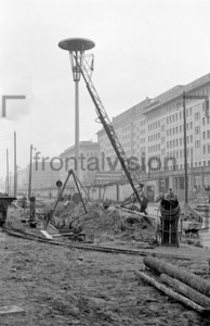Block C Bau Stalinallee 1953