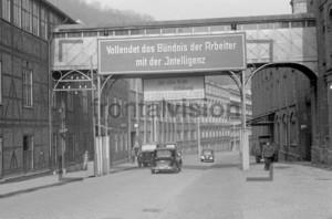 Politische Losung in der DDR 1950