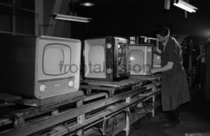 Television Production Factory 1950