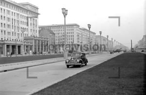 Karl Marx Allee, Stalinallee Berlin 1953
