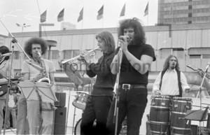 Musikband der DDR Maidemo 1973