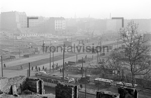 U-Bahnhof Frankfurter Tor Berlin 1953
