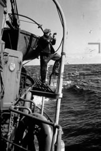 Fischkutter auf hoher See