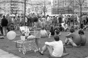 Konzert auf dem Alexanderplatz 1973