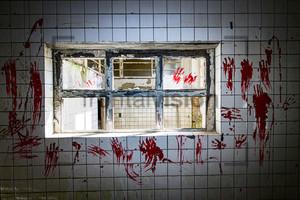 Blut Gemetzel Heilstätte Grabowsee - Lung sanatorium Grabowsee
