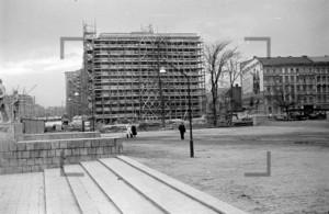 Deutsche Sporthalle Block B Stalinallee Berlin 1953