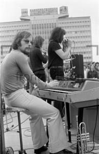 Musikband Keyboard DDR 1973