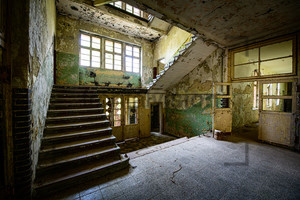 Treppenhaus Heilstätte Grabowsee - Lung sanatorium Grabowsee