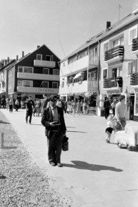Helgoland Lung Wai Shopping Einkaufsstraße 1959