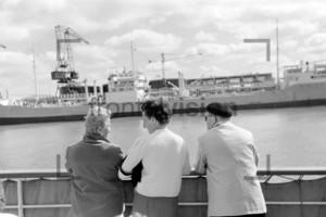 Fähre nach Helgoland | Ferry to Helgoland 1959