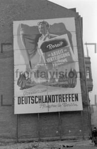 Wandplakat zu Deutschlandtreffen 1950