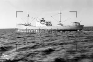 Tanker auf der Nordsee 1959