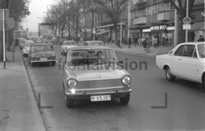 Strassenverkehr Westberlin 1969 | Road traffic Berlin 1969
