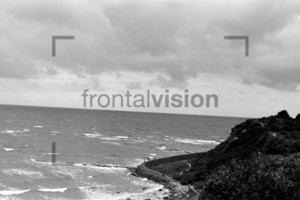 Beach Strand Helgoland 1959