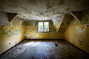 Dachboden Heilstätte Grabowsee - Lung sanatorium Grabowsee