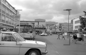Old Bus station Bonn Bad Godesberg Historic Image