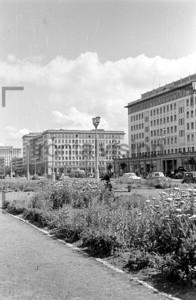 Frühling Karl Marx Allee Stalinallee 1956