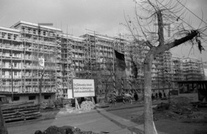 Bau der Stalinallee Ostberlin 1952 | Building Stalinallee East Berlin 1952