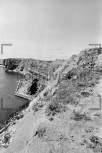 Rote Klippen Helgoland | Red Cliffs Helgoland 1959