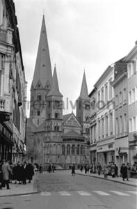 Bonn Münster Dom 1955