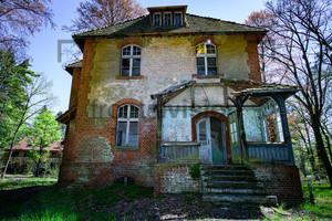 Verfallenes Haus Heilstätte Grabowsee - Lung sanatorium Grabowsee