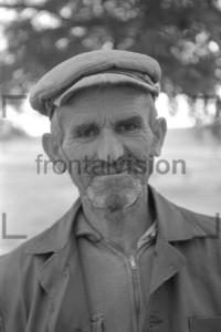 Alter Bulgare Portrait   Old bulgarian man