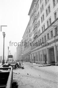 Stalinallee Block E Ostberlin 1952