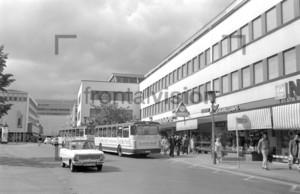 Bonn Bad Godesberg Centre Theaterplatz 1974 Historical Image