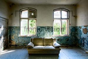 Sofa Heilstätte Grabowsee - Lung sanatorium Grabowsee