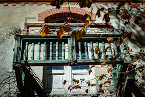 Eingestürzter Balkon Heilstätte Grabowsee